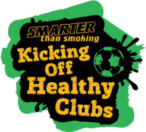 STS kicking off healthy clubs logo