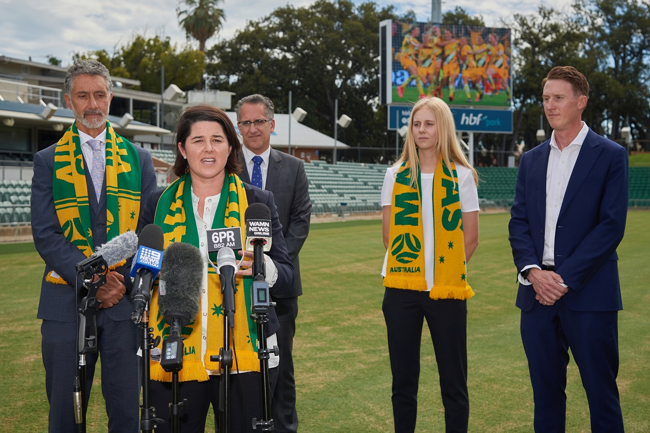 Perth to host matches at 2023 Women's World Cup