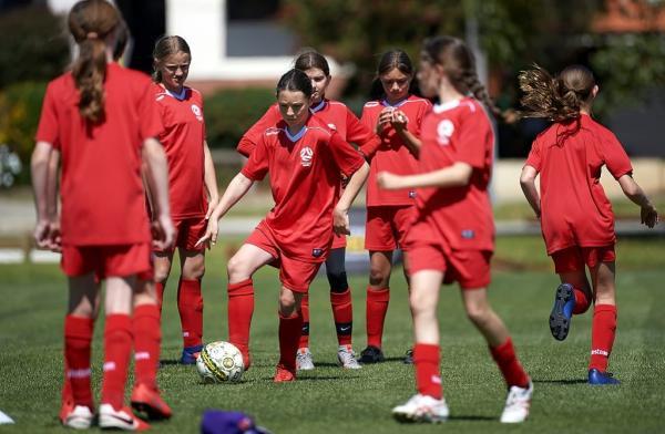 Hyundai Girls SAP football