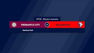 Football West NPLW WA Round 13, Fremantle City Football Club vs Balcatta FC #FootballWest​