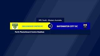 Football West NPL WA U20's Round 16, Inglewood United Soccer Club vs Bayswater City SC #FootballWest​