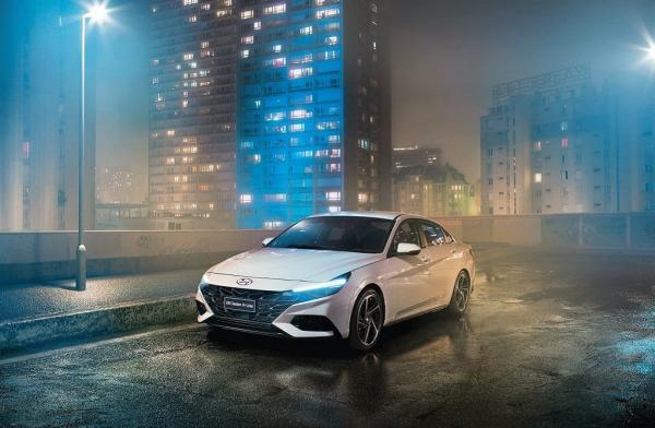 Hyundai car shot