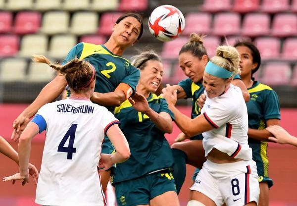 Australia drew 0-0 with USA
